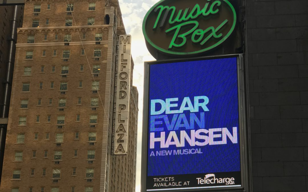 Broadway in review: Dear Evan Hansen