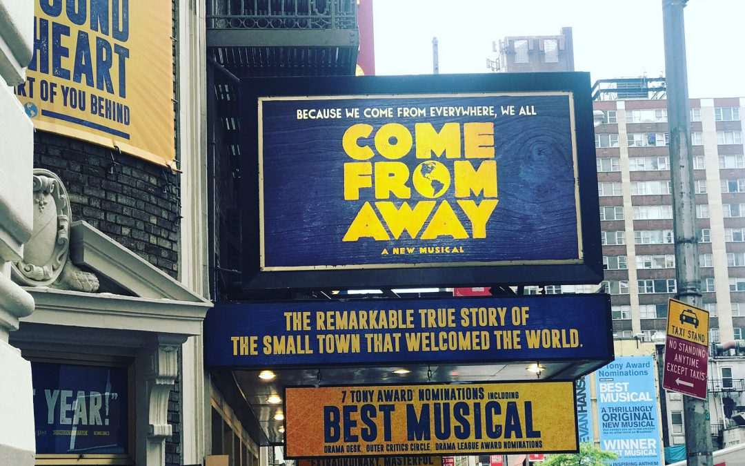 Broadway in review: Come From Away